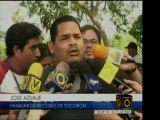Familiares de los reos del penal en Tocorón, estado Aragua,