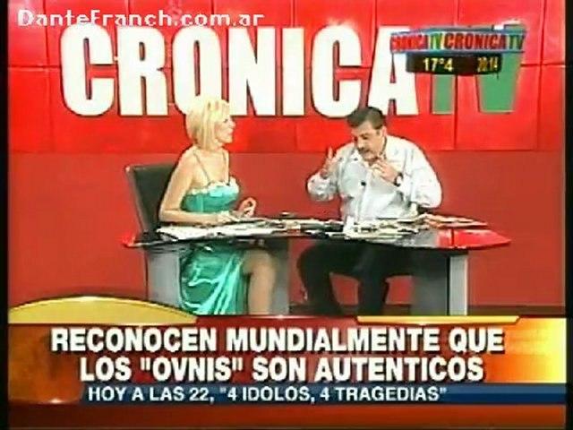 Dante con Anabela Ascar - Reconocen mundialmente los OVNIS (18-04-2011)