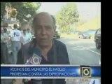 Vecinos del municipio El Hatillo protestaron en La Boyera co
