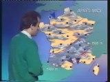 TF1 Novembre 1991 Fin émission Avant l'école,pub,b.a.,météo,TF1 Matin