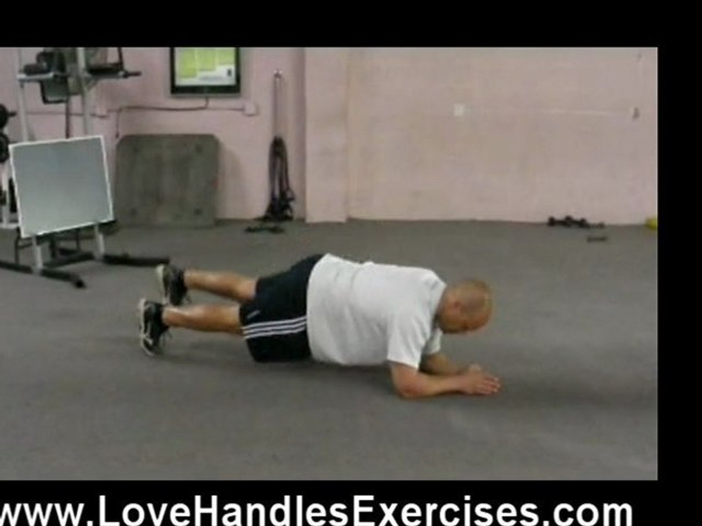 Love Handles Exercises Plank pt2
