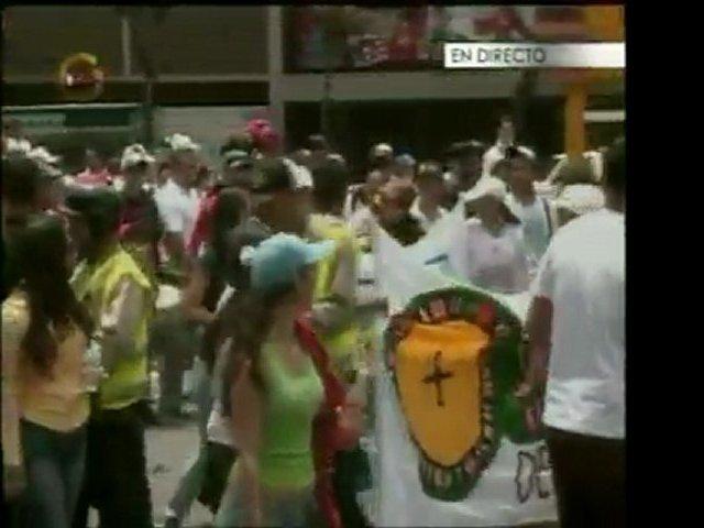 Trabajadores de los Bingos y Casinos inician una marcha por