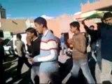 Boumalne Dades : Manifestation du mouvement 20 février