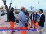 Isola delle Femmine Protesta Operai ATO PA1