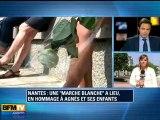 Nantes : marche en hommage à la famille Ligonnès