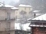 altra forte nevicata