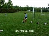 Technique : Les fondamentaux du footballeur (la maîtrise du ballon et la frappe de balle)
