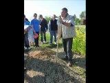 Visite des élèves du lycée agricole de Sées (61) au jardin de la tasselière au Plantis (permaculture)