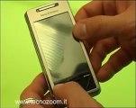 Video Sony Ericsson Xperia X1 design