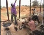 Projet RESEDA au Niger - Sacs plastiques / pavés