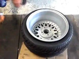 BBS RM montage pneu start pilot par Yannick