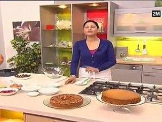 Recette cake au fraise et cake au chocolat