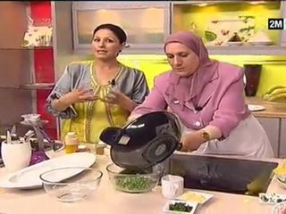 Recette poulet et recette salade