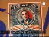 New York célèbre la mort d'Oussama Ben Laden - no comment