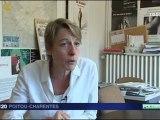 Ségolène Royal -Pass contraception accepté dans les lycées en Poitou-Charentes à la rentrée 2011 2012  Intervention de Martine Daoust , Françoise Mesnard et Ségolène Royal - reportage fr3 P-C (JT 19-20 - 02-05-2011)