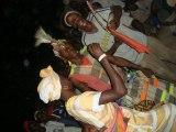 La poetesse Nathy Ebriet enfants du village Paroumba Senegal
