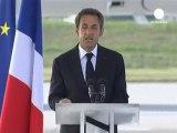 Sarkozy rende omaggio alle vittime della strage di...