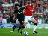 Manchester United - Schalke 04 Anderson double, Valencia, Gibson great-strike