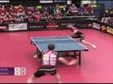 Greatest Table Tennis Shot EVER! Mattias Oversjo