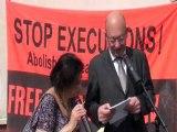 Cérémonie rue Mumia Abu Jamal, discours du maire Didier Paillard
