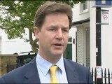 Clegg: Lib Dems take big knocks
