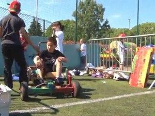 Compétition de Push Cars : victoire de l'imagination et de l'huile de coude