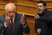 Αντιπαράθεση Τσίπρα - Παπανδρέου στη Βουλή