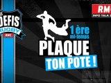 Les Défis Rugby RMC - 1ère mi-temps Plaque Ton Pote