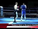 Finale du Championnat de France Elite A 2011. Savate Boxe française à Coubertin Paris. Combat 7 et 8