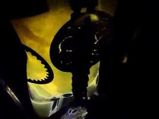 scarfos art contemporain univers roi King cyberpunk steampunk industriel eau fontaine jouvence corporel fluide
