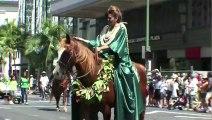 PRINCE KUHIO CULTURAL PARADE, WAIKIKI, HAWAII USA