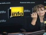 Marie-George Buffet Invitée de la matinale de France-Info lundi 9 mai 2011