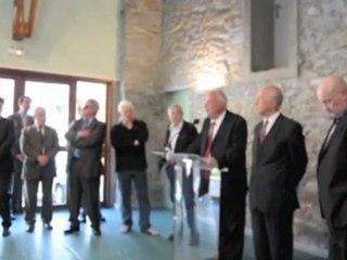 Inauguration de la déviation de Cazeaux-de-Larboust
