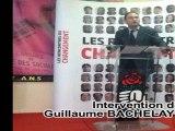 Le projet socialiste pour 2012 présenté par Guillaume BACHELAY