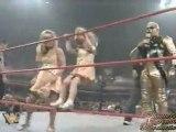 Goldust vs. Rockabilly (Dakota Runnels makes her TV debut) - Raw - 5/19/97