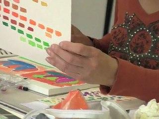 Cours de dessin : stage couleur 2010