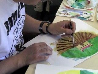 Cours de dessin : stage couleur 2011