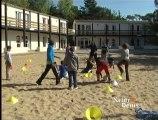 Sport et barbecue au centre de vacances de Saint-Jean de monts