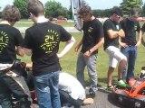 Avant départ 24h karting ESSEC 2011 ENIT KART - ICA Patrimoine
