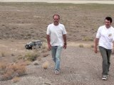 Rallye dans le Black Rock Desert du Nevada - Fin du DVD