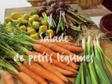 Salade de petits légumes  par le chef Régis Daudignan