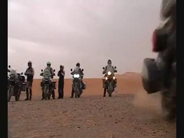 The Riders in the Maroc (résumé)