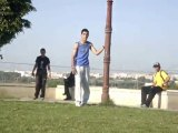 Parkour and Freerunning / Training day in rabat - Traceur MJ and Urban Free Art - FUNNY VIDEO