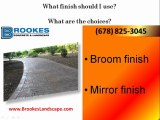 Concrete Contractors in Atlanta, Paving Contractors Atlanta