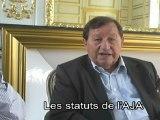 Guy Férez et Guy Roux , les statuts de l'AJA