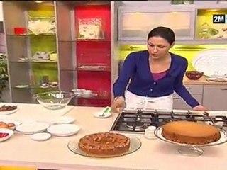 Cake Chocolat Fraise