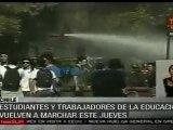 Enfrentamientos en protestas en Chile