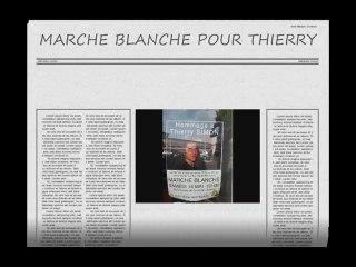 BOLLÈNE : MARCHE BLANCHE POUR THIERRY