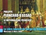 Philippe Ploncard d'Assac: Le Nationalisme Français 1 (1/2)
