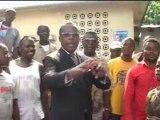 Alain Akouala vole au secours des populations de Poto-Poto